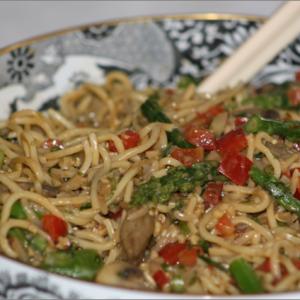 Veggie Soba Noodles