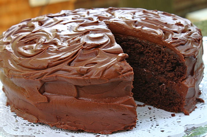 Old-Fashioned Devil's Food Cake | Feast on the Cheap