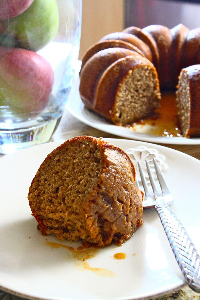Spiced Apple Cider Cake