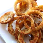 Thumbnail image for Baked Onion Rings with Old Bay
