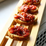 Thumbnail image for Roasted Tomato and Garlic Crostini