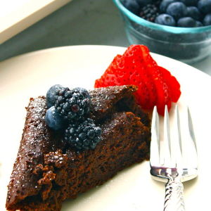 Rich Chocolate Black Bean Cake