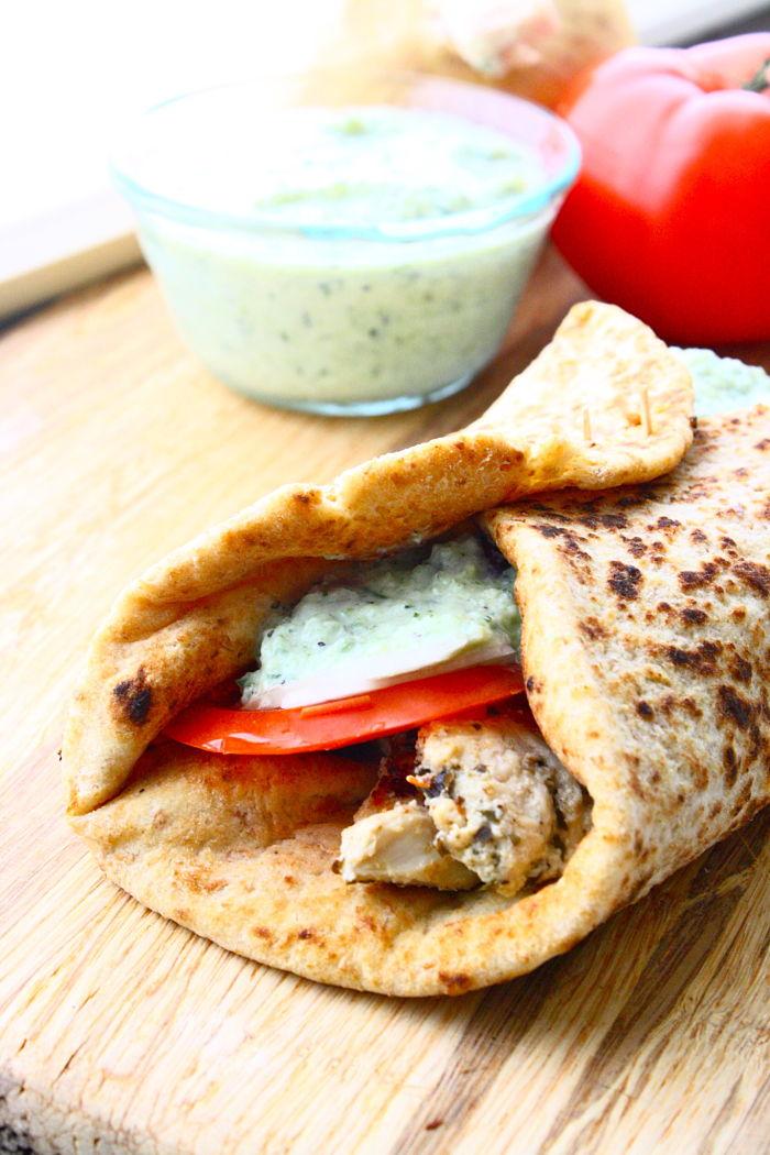 how to use greek pita bread