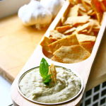Thumbnail image for Roasted Garlic and White Bean Dip with Fresh Basil