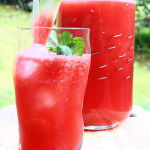 Thumbnail image for Sparkling Cilantro-Mint Watermelonade