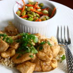Thumbnail image for Toasted Cashew Chicken with Scallions & Fresh Cilantro