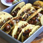 Thumbnail image for Chipotle-Spiced Oven Tacos with Black Beans and Pepper Jack