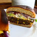 Thumbnail image for Black Bean, Quinoa & Sweet Potato Veggie Burgers