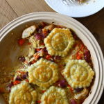 Thumbnail image for Chicken, Cheddar and Fingerling Potato Tart
