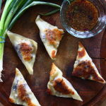 Thumbnail image for Curried Pork Potstickers with Soy-Ginger Dipping Sauce