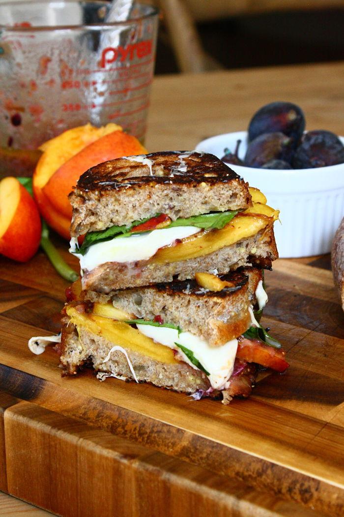 grilled tomato panini mozzarella and tomato bread tomato mozzarella s ...