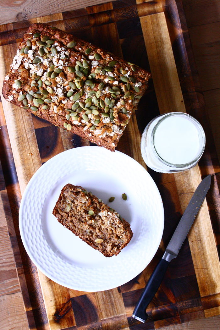 Oatmeal Applesauce Banana Bread_opt