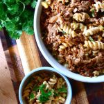 Thumbnail image for Pulled Pork Pasta Salad