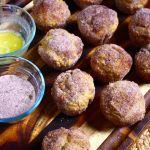 Thumbnail image for Cinnamon-&-Sugar-Dusted Pumpkin Doughnut Muffins