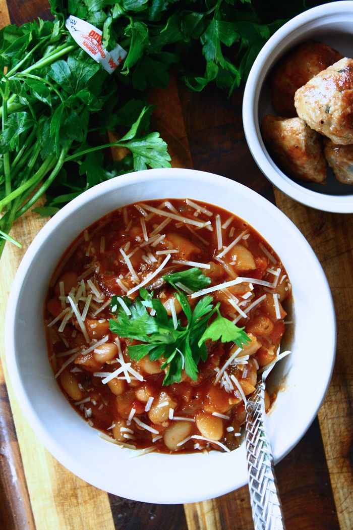 Vegetarian White Bean Chili