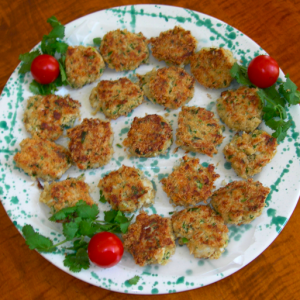 Crab Cakes with Jalapeno Aioli