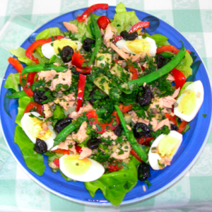 Salade Nicoise (a la On the Cheap)