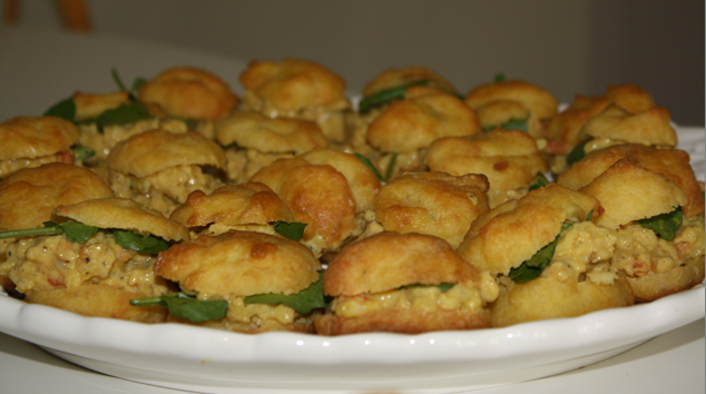 Curry Shrimp Puff