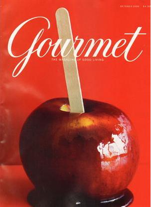 Gourmet's October 2009 cover, courtesty of gourmet.com