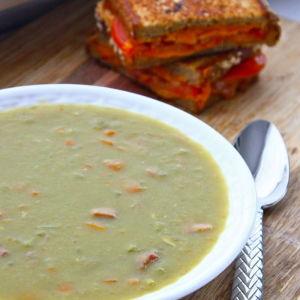 Split Pea Soup with Smoked Pork
