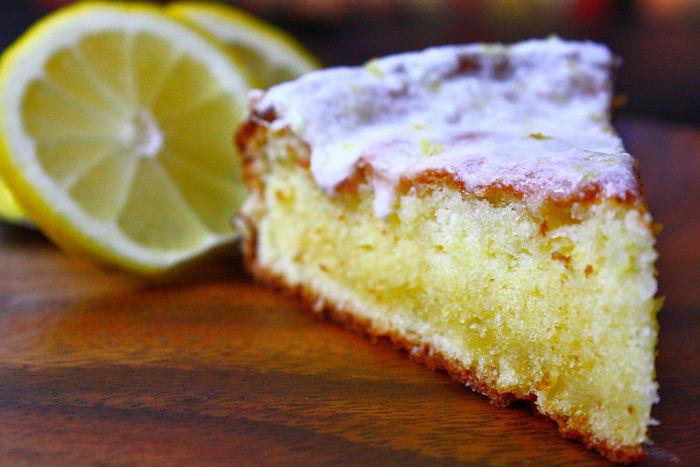 Cooked Lemon Glaze For Cake