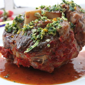 Osso Bucco: Braised Veal Shanks