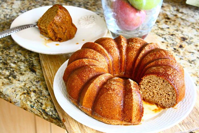 Recipe for apple cinnamon bundt cake