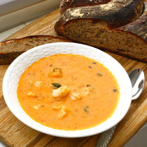 Cajun Shrimp Bisque