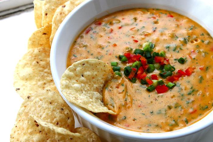 Chile Con Queso Aka Tex Mex Style Nacho Cheese Dip Feast