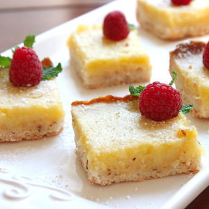 Old-Fashioned Lemon Squares
