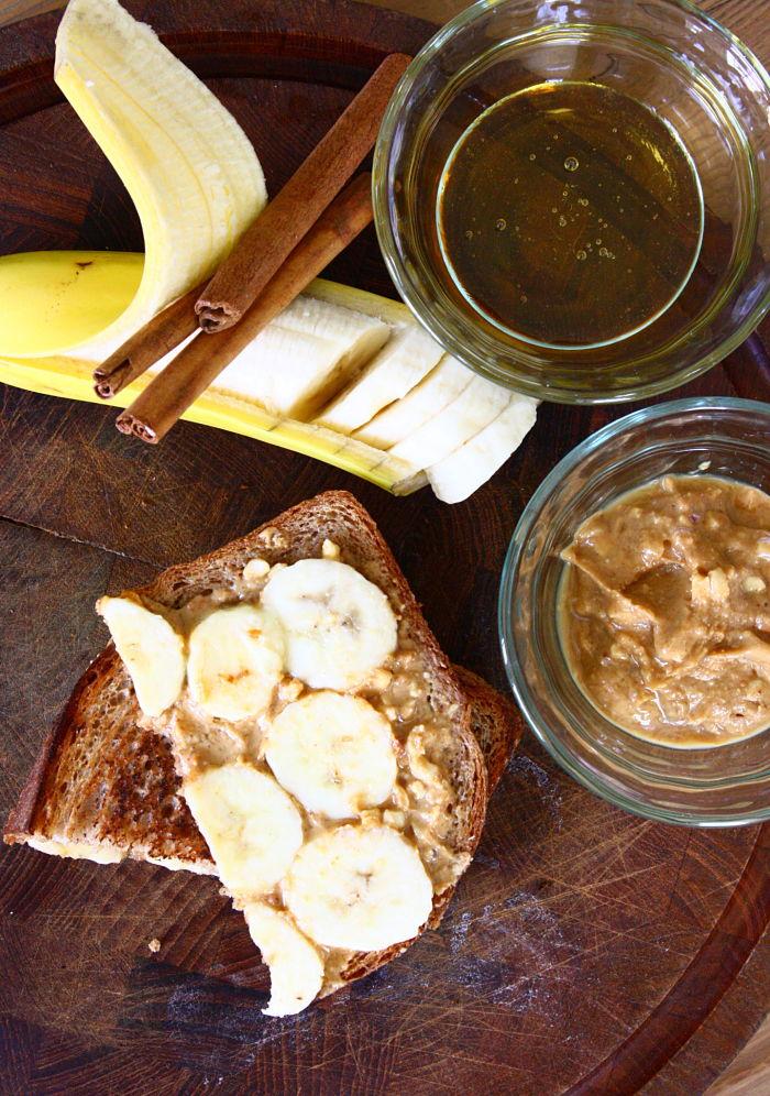 PB Banana Honey Sammie