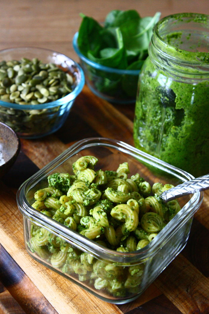 Pumpkin Seed & Spinach Pesto_opt