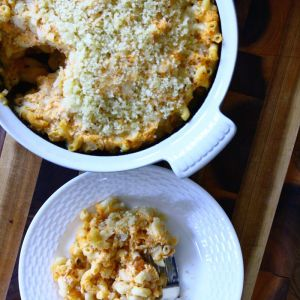 Sweet Potato-Butternut Squash Mac 'n Cheese