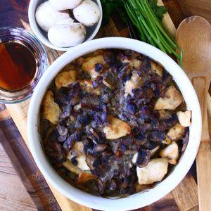 Chicken Marsala with Prosciutto