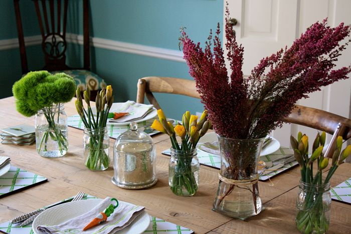 Feast on the Cheap Easter Table1