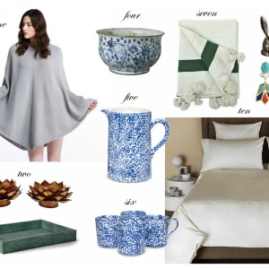 Holiday Wishlist for the Design Obsessed